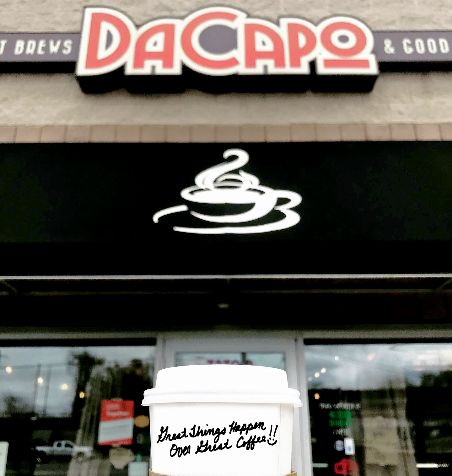 Picture of front of DaCapo