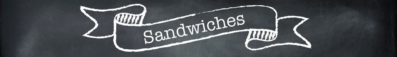 Picture of Sandwich menu